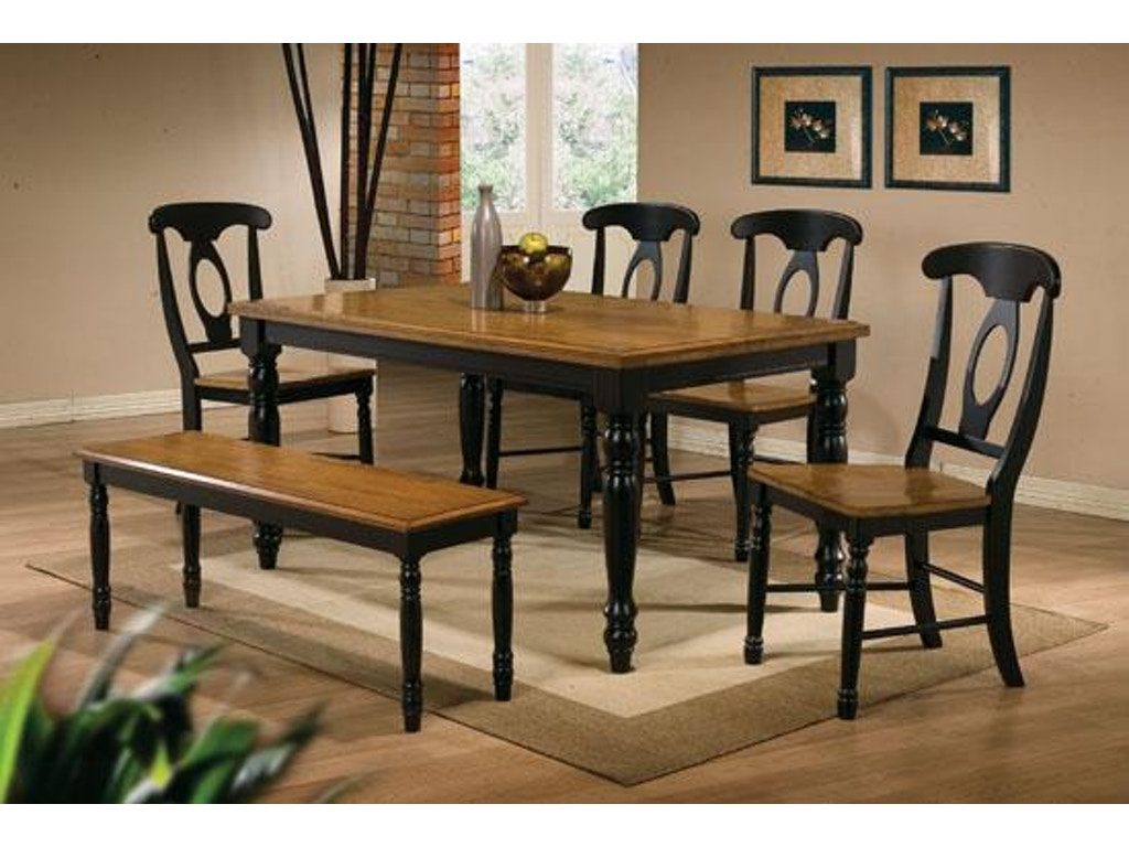 Winners only dining room 60 inches quails run leg table for Only dining table online