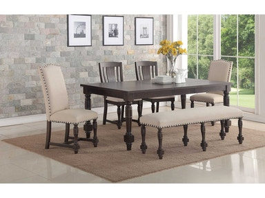 Winners Only Dining Room Slat Back Side Chair DX1451SG