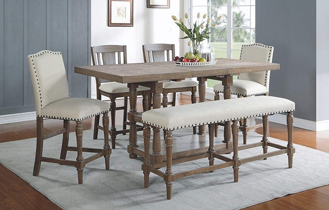 Winners Only 78 Inch Tall Table With 18 Inch Butterfly Leaf Dxt13678g