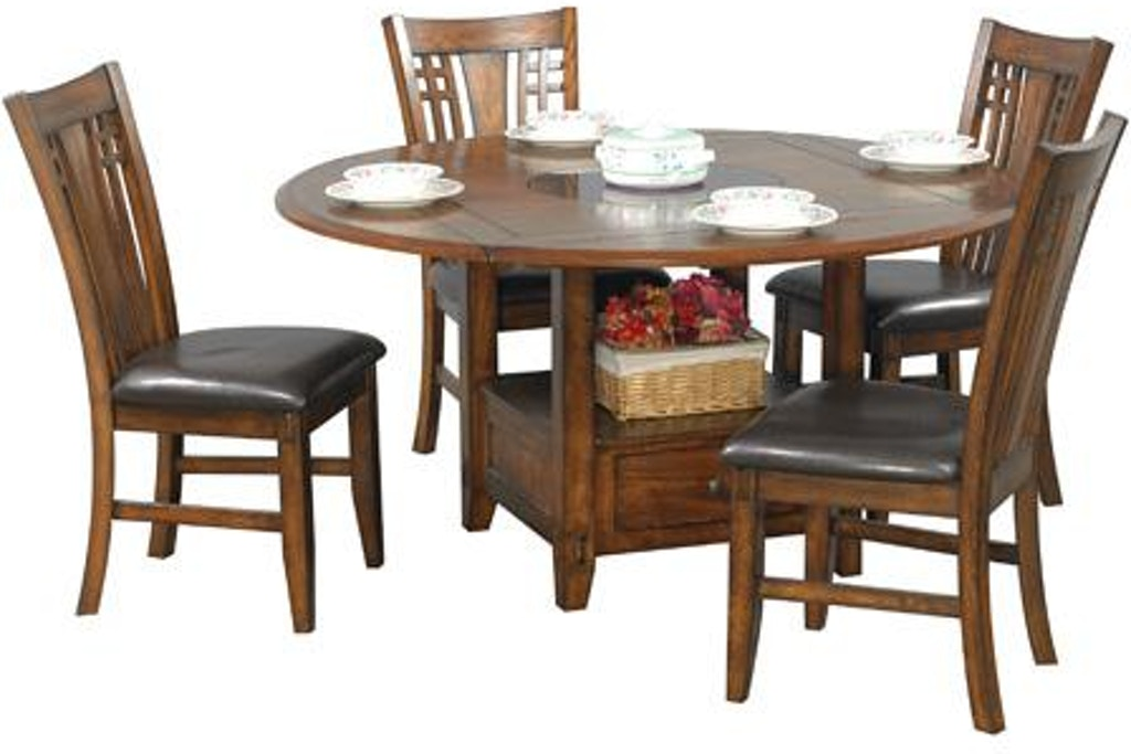 Winners Only Dining Room 60 Round With Table Dzh4260 Steinberg S Furniture Peru Il