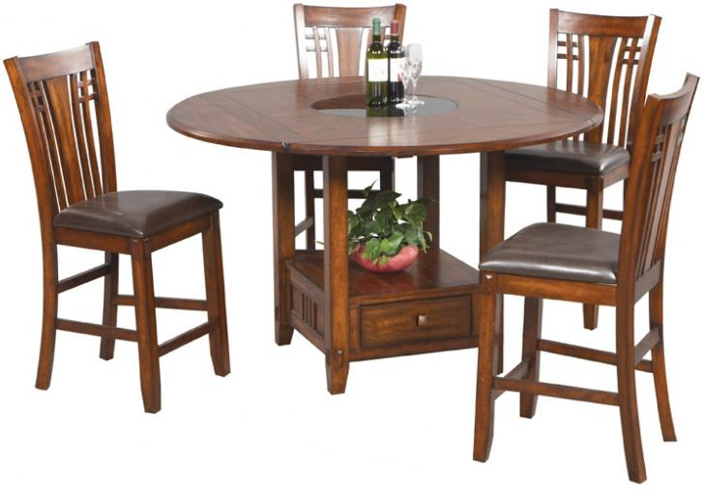 Winners Only Dining Room Inches Tall Square To Round Table With - 42 inch round dining room table