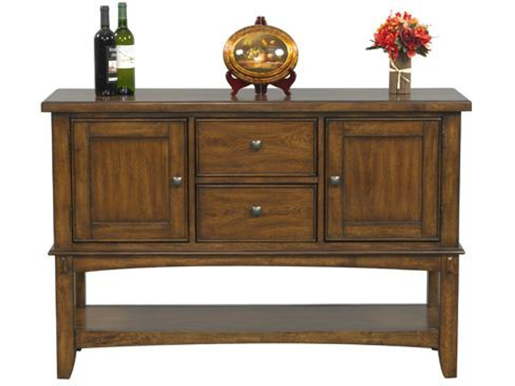 Winners only dining room 54 inches zahara server dzh570b for Dining room tables 54 inches long