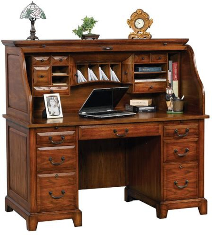 Winners Only Home Office 15 Inches Zahara Roll Top Desk GZ215R