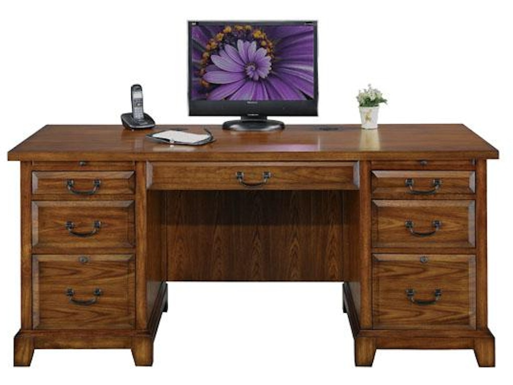 Winners only home office 66 inches zahara flat top desk gz266f carol house furniture - Home office furniture maryland ...