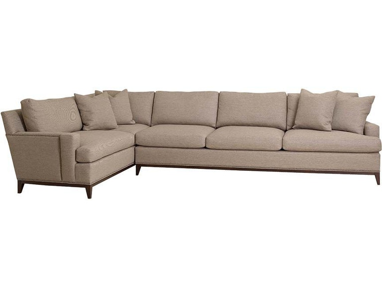 Hickory Chair Living Room 9th Street Sectional 122-SECT ...