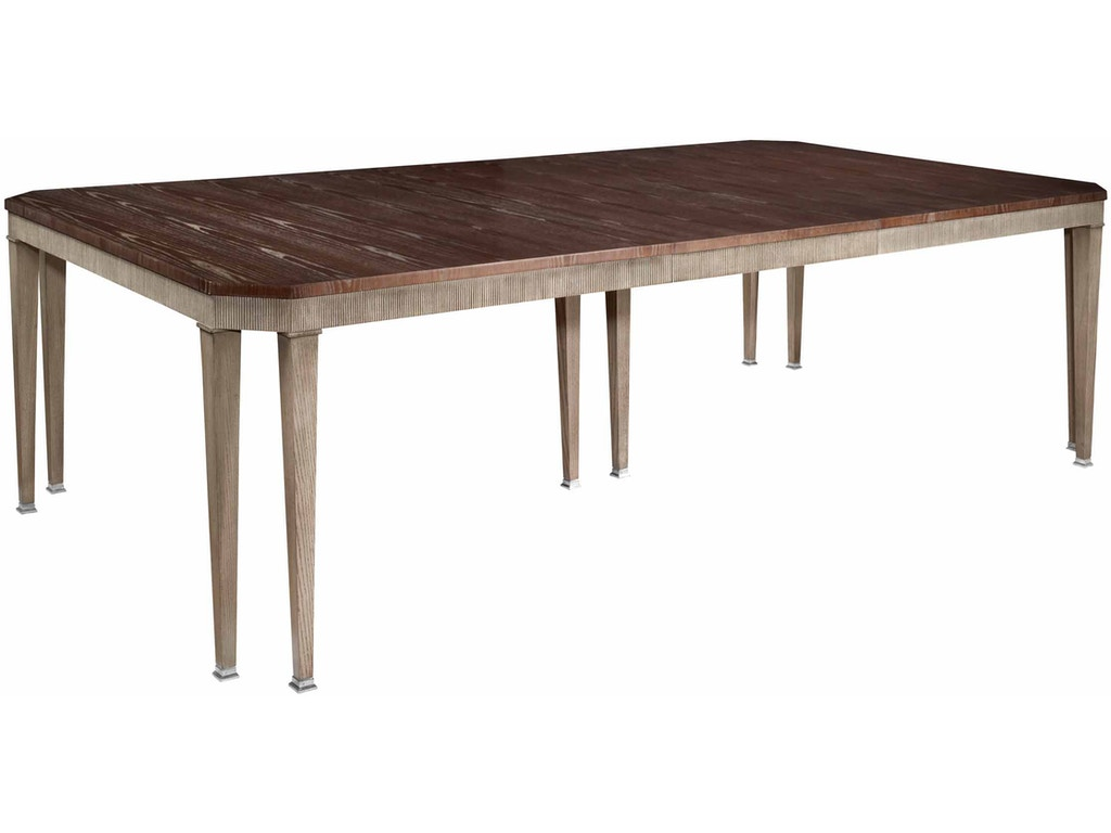 Chamfered Corner Dining Table