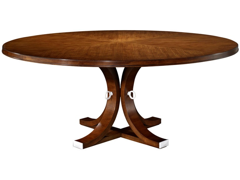 Hickory Chair Furniture Dining Room Artisan Round Dining - 70 round dining room table