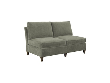 Hickory Chair Leigh Armless Love Seat 1504-41