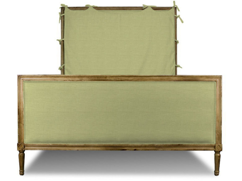 Hickory chair bedroom candler king headboard only for King furniture slipcovers
