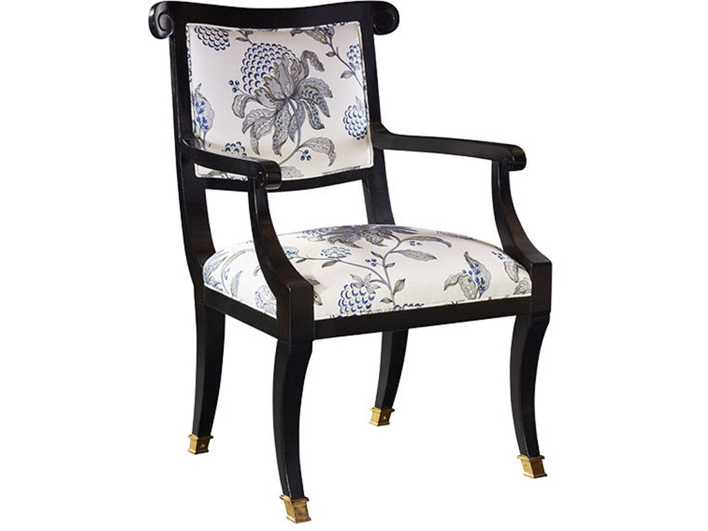 dining room abigail arm chair 5210 01 at greenbaum interiors. Black Bedroom Furniture Sets. Home Design Ideas