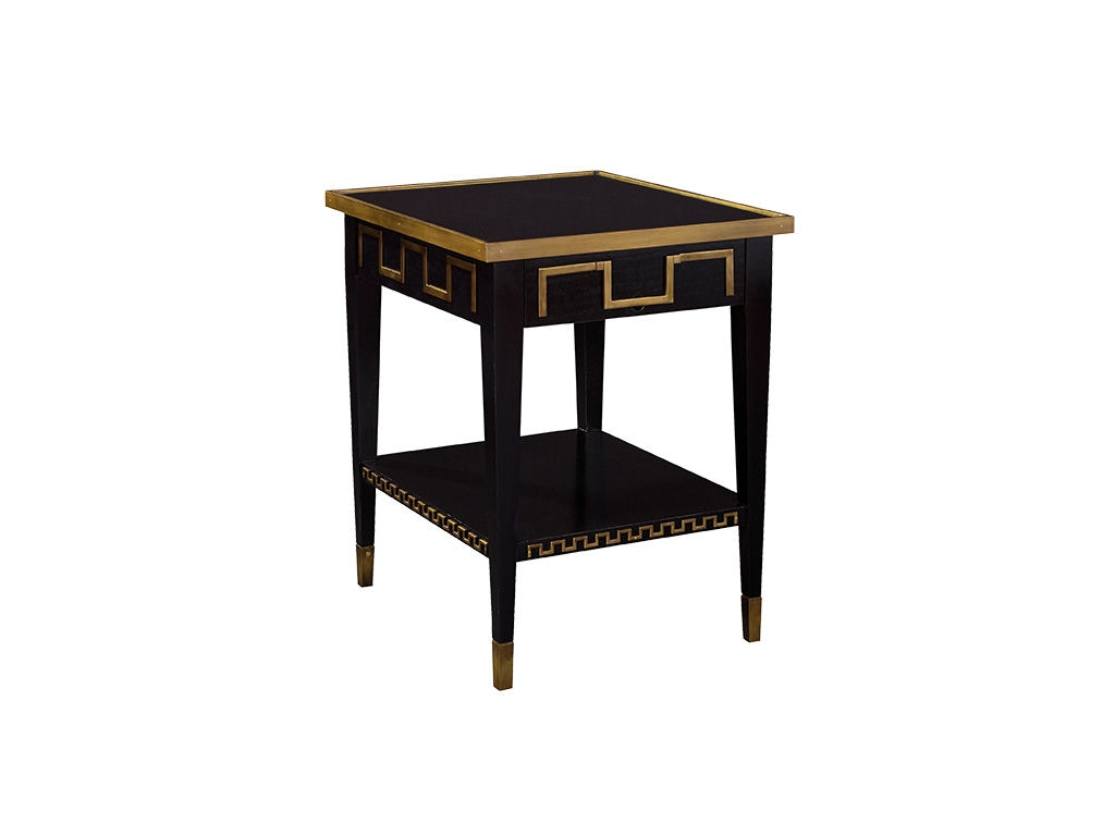 Ordinaire Hickory Chair Furniture Adams Greek Key Side Table 5286 10