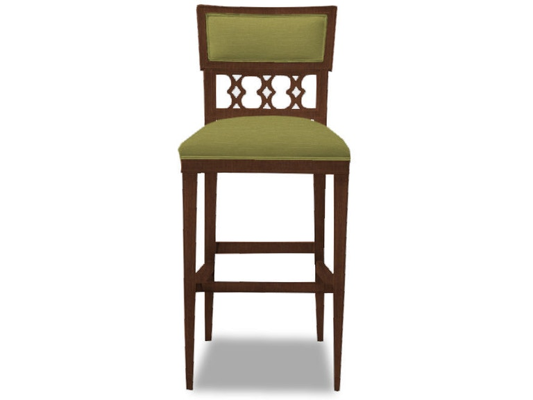 hickory chair dining room ilsa bar stool figure 8 back panel 5350 04