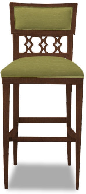 Strange Hickory Chair Bar And Game Room Ilsa Bar Stool Figure 8 Back Alphanode Cool Chair Designs And Ideas Alphanodeonline
