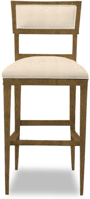 Stupendous Hickory Chair Bar And Game Room Ilsa Bar Stool Open Back Alphanode Cool Chair Designs And Ideas Alphanodeonline