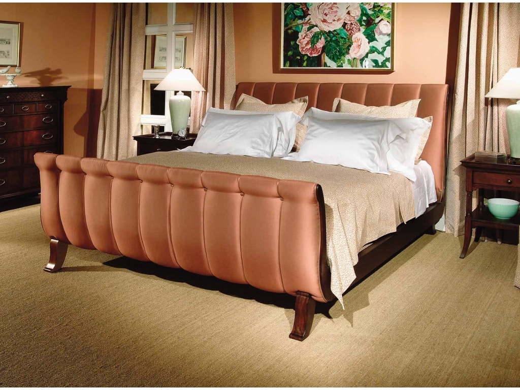Hickory chair bedroom calla bed 5 0 queen 7660 10 toms price furniture chicago suburbs for Hickory chair bedroom furniture