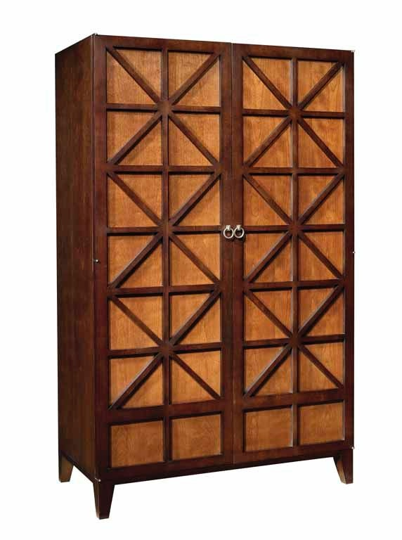 Elegant Hickory Chair Cleo Armoire/Entertainment Cabinet HKC987410 From Walter E.  Smithe Furniture + Design