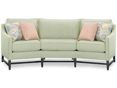 Temple Living Room Sassy Angle Sofa 5102 100 Hickory