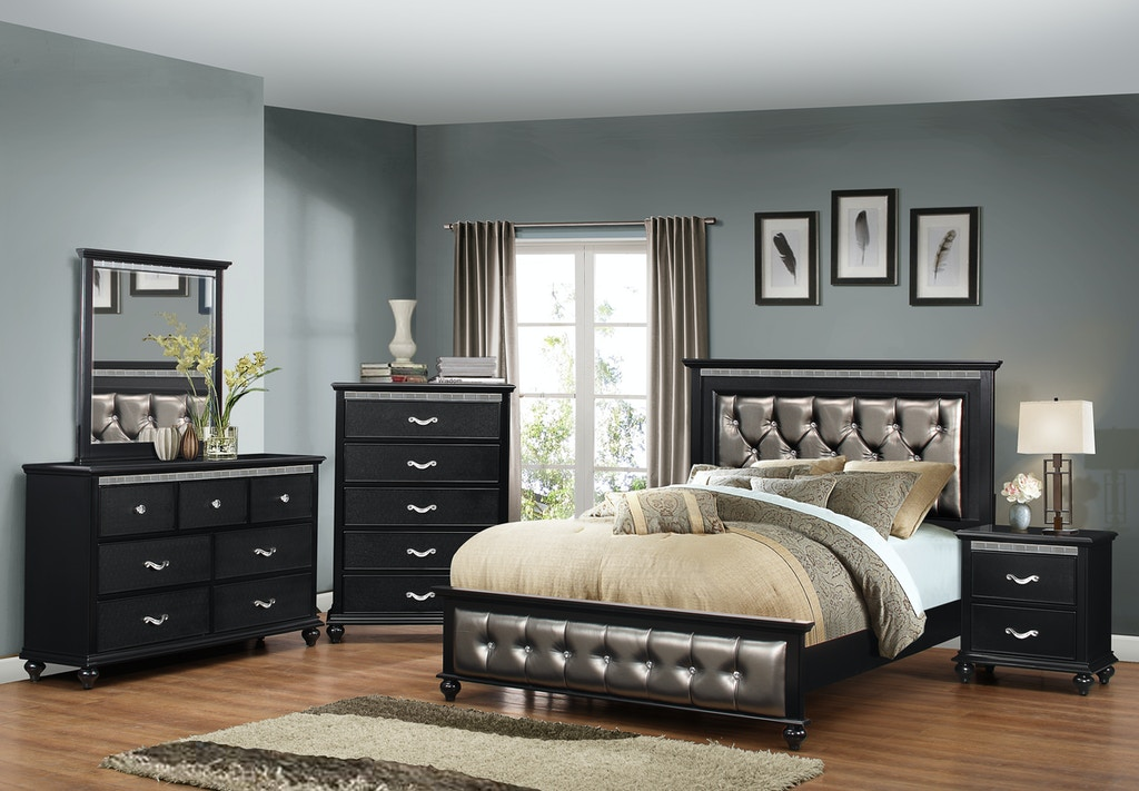 Simmons Upholstery Casegoods Bedroom 1007 Queen Headboard Footboard China Towne Furniture