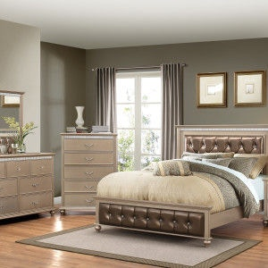 champagne color bedroom simmons upholstery amp casegoods bedroom 1008 11015