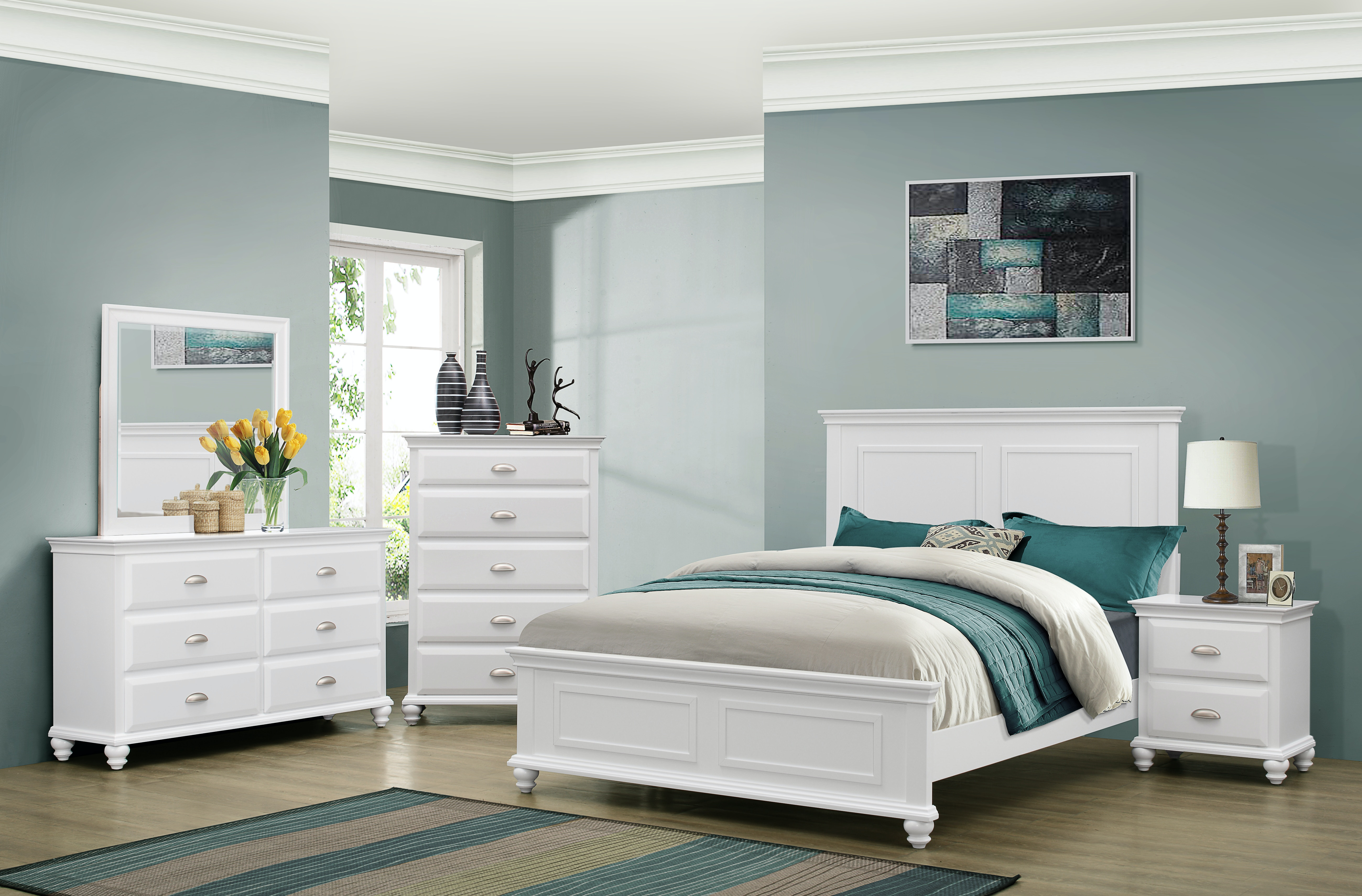 Charmant Simmons Upholstery U0026 Casegoods Queen Headboard U0026 Footboard 1009 Queen  Headboard/Footboard