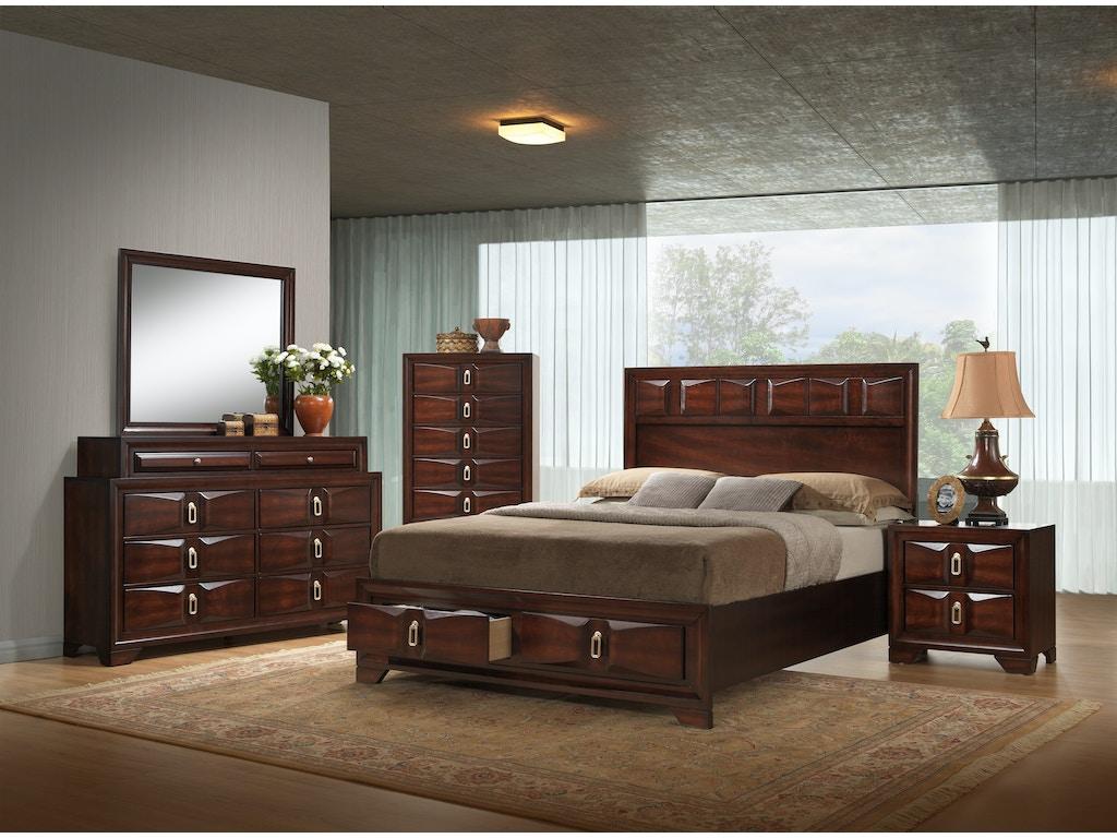 Simmons Upholstery & Casegoods Bedroom 1012-Queen