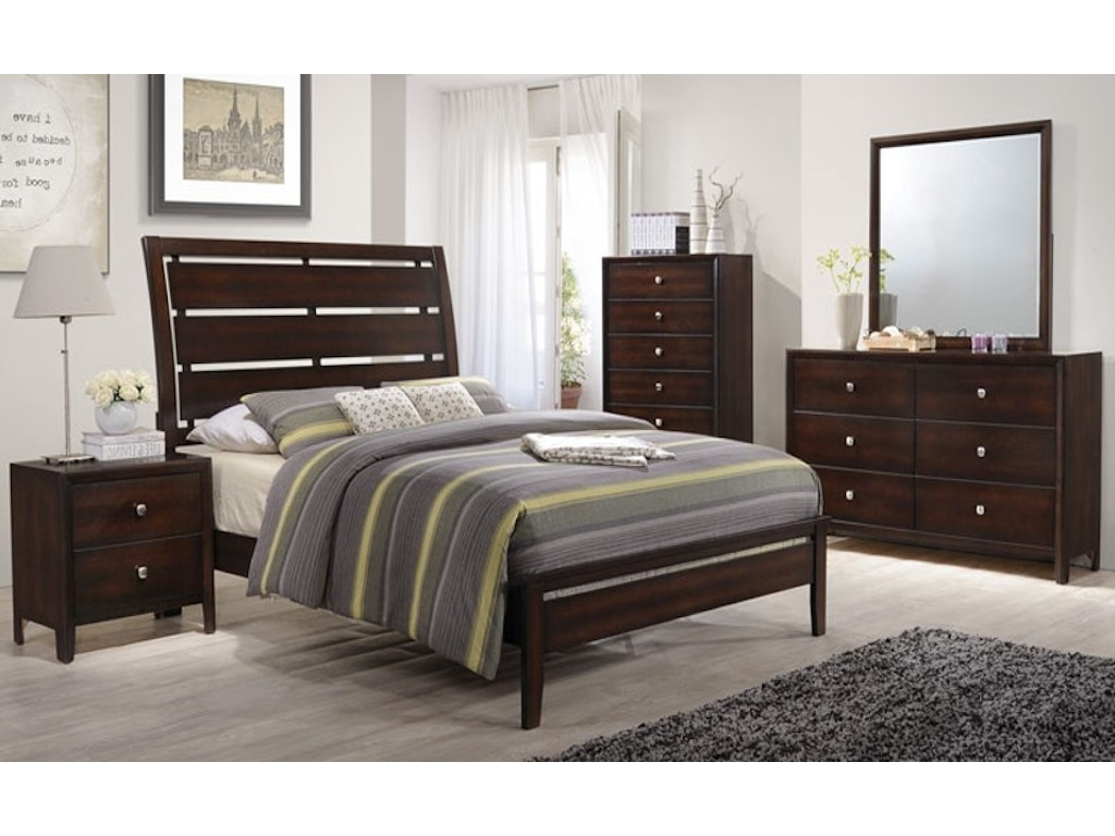 Simmons Upholstery Casegoods Bedroom 1017 King Headboard Footboard China Towne Furniture