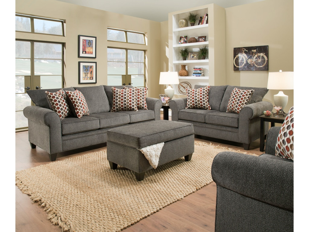Simmons Upholstery Amp Casegoods Living Room 1647 Sofa