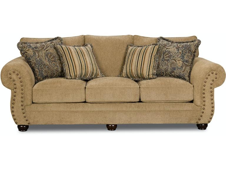 Simmons Upholstery Casegoods Living Room 4277 Sofa