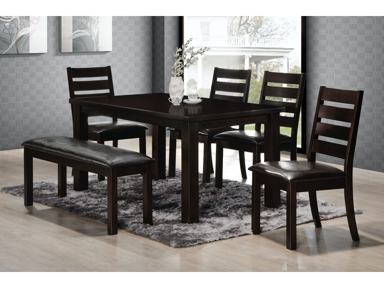 Simmons Upholstery Casegoods Dining Room Durango Set 5010 At Furniture Marketplace