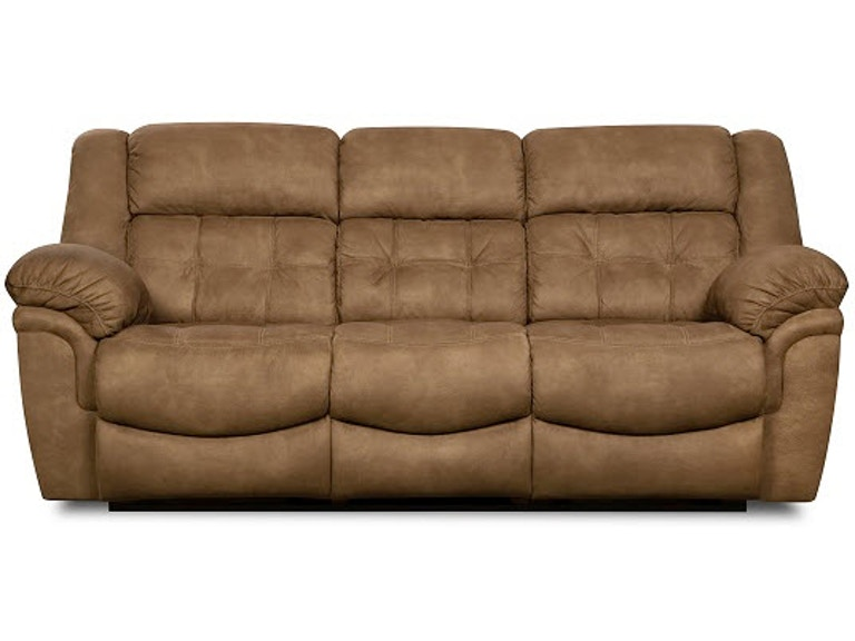 Simmons Upholstery Casegoods 50340 Br Double Motion Sofa