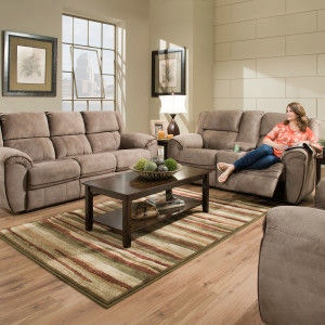 Simmons Upholstery & Casegoods Living Room 50436-BR-Double