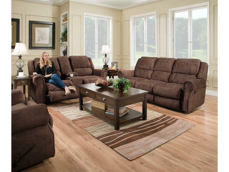 Simmons Upholstery & Casegoods Living Room 50868-BR-Double