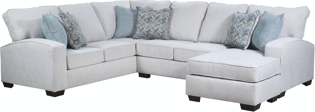 grandstand flannel sectional simmons upholstery