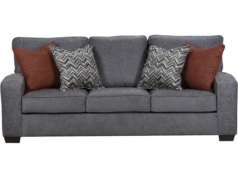 Simmons Upholstery Casegoods Living Room 7077 Sofa