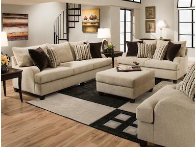 Simmons Upholstery Casegoods Living Room 8520 Sectional Davis
