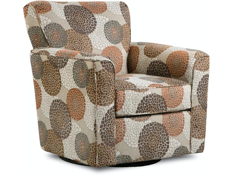 Simmons Upholstery & Casegoods Living Room 160-Swivel Glider Chair ...