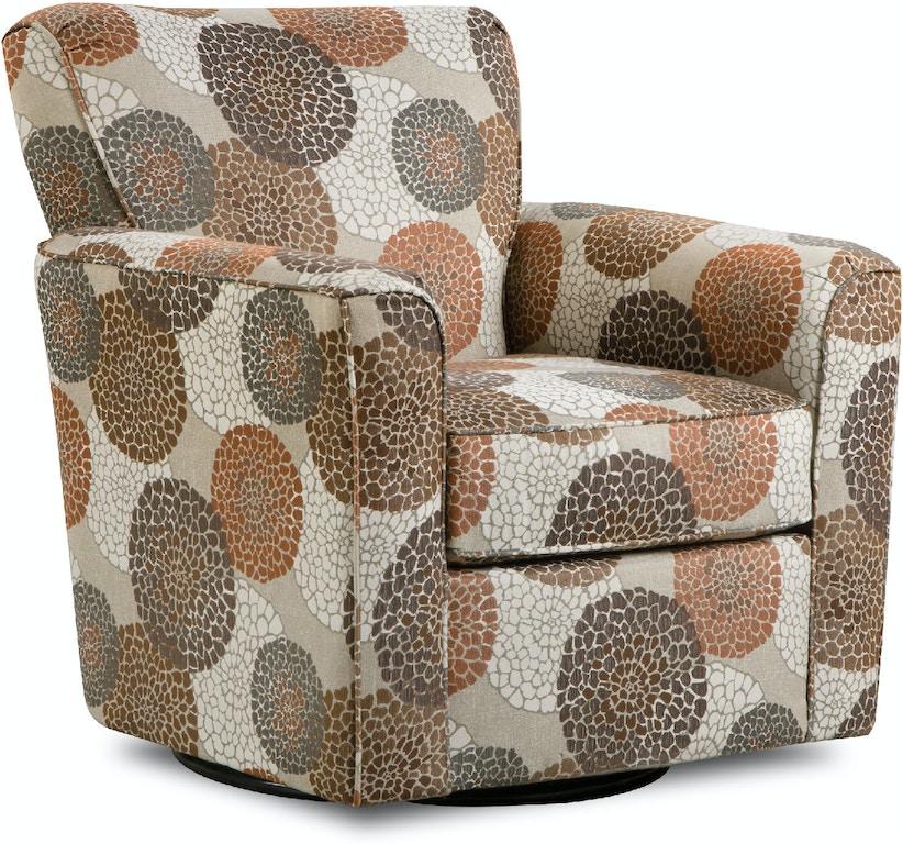 Simmons Upholstery & Casegoods Living Room 160-Swivel Glider ...
