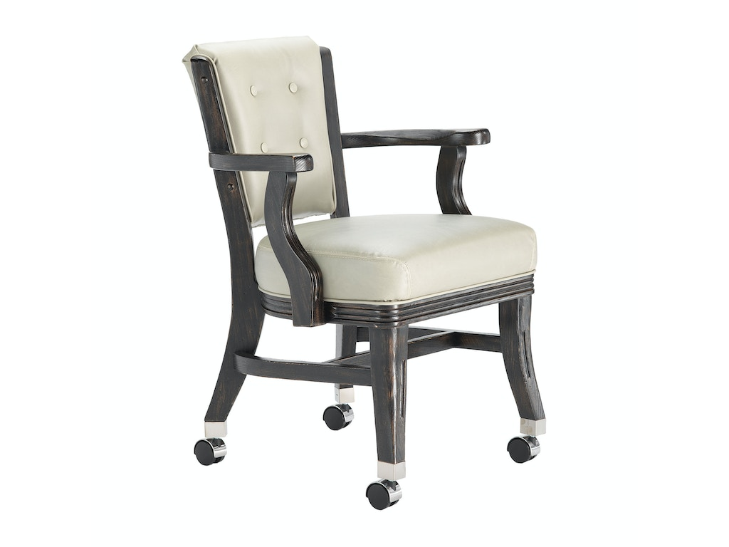 Darafeev Bar And Game Room Club Chair With Casters 660 4lc