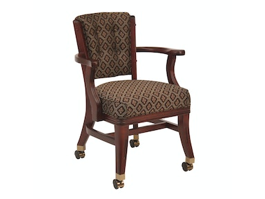 Darafeev Bar And Game Room Club Chair With Casters 960 4lc