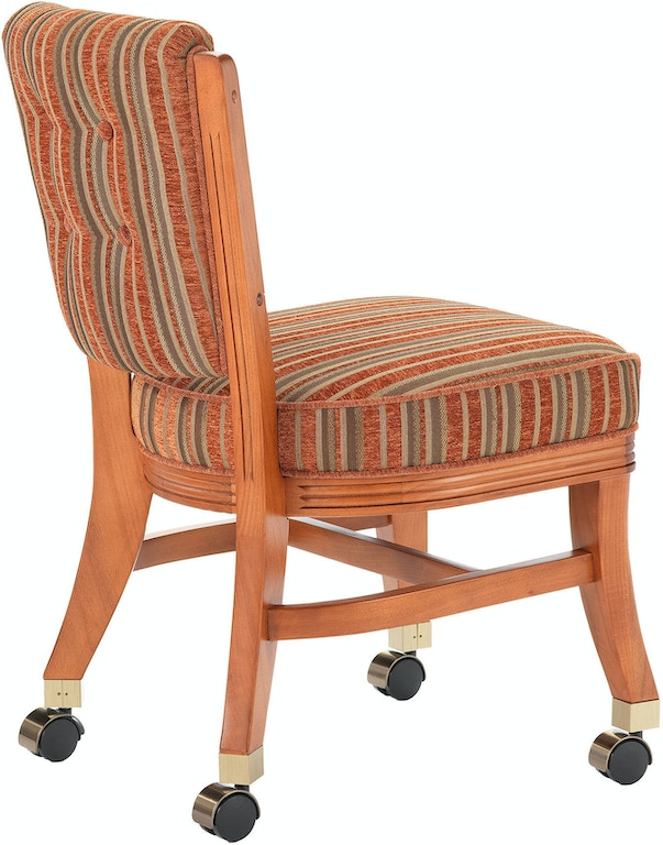 Darafeev Bar And Game Room Armless Club Chair With Casters