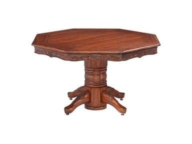 Darafeev Chateau Poker Dining Table With Bumper Pool (Oak Only) CHO354-PL