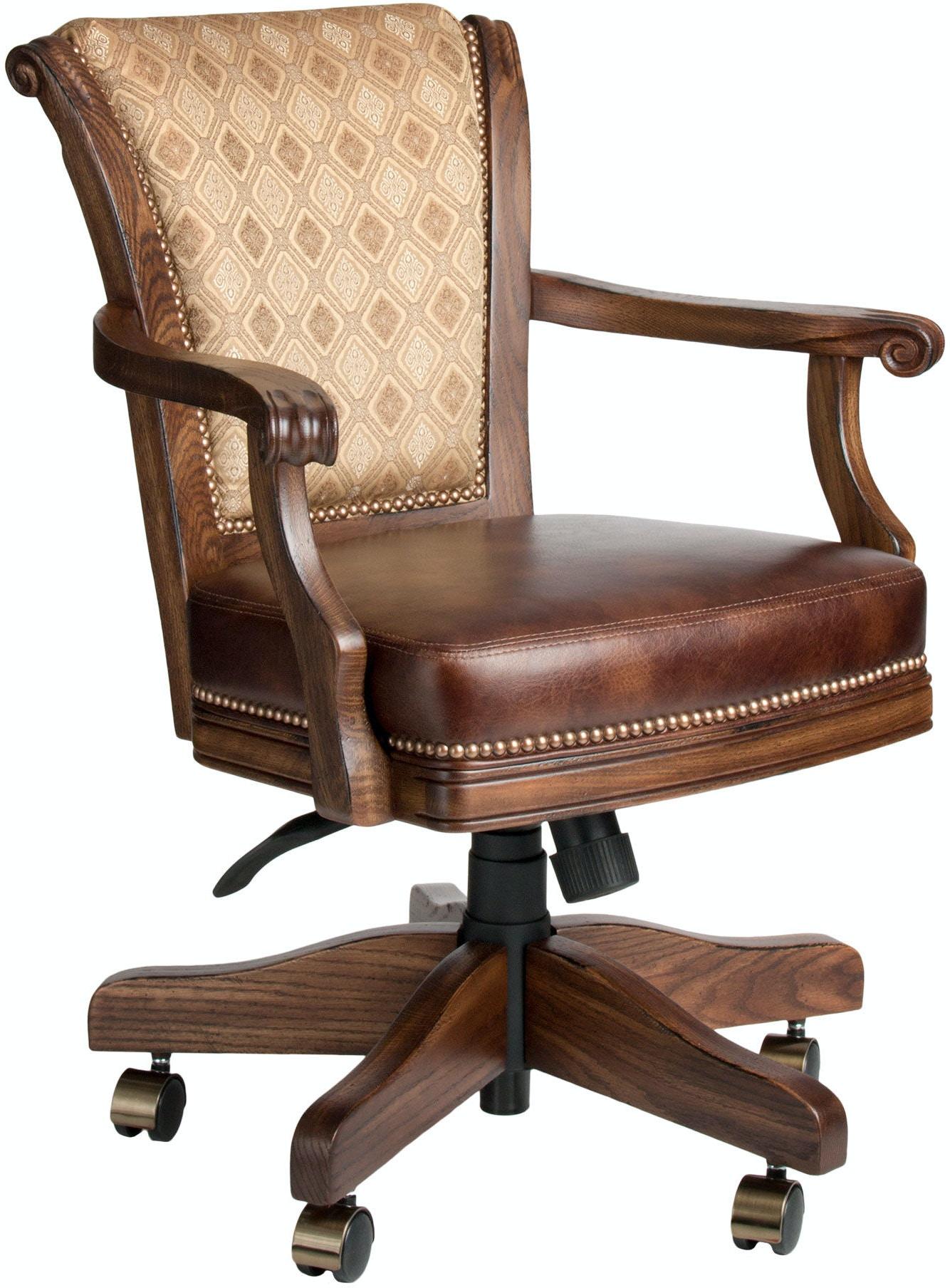 Darafeev Bar And Game Room Classic Game Chair Oak Clo Gc