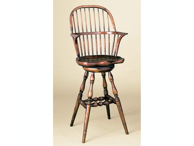 Holland & Co High Back Barstool with Swivel 1018
