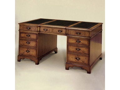 Holland & Co Breakfronted Pedestal Desk 4910