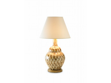 Bunny Williams Home Pheasant Feather Lamp - Brown BLH1100