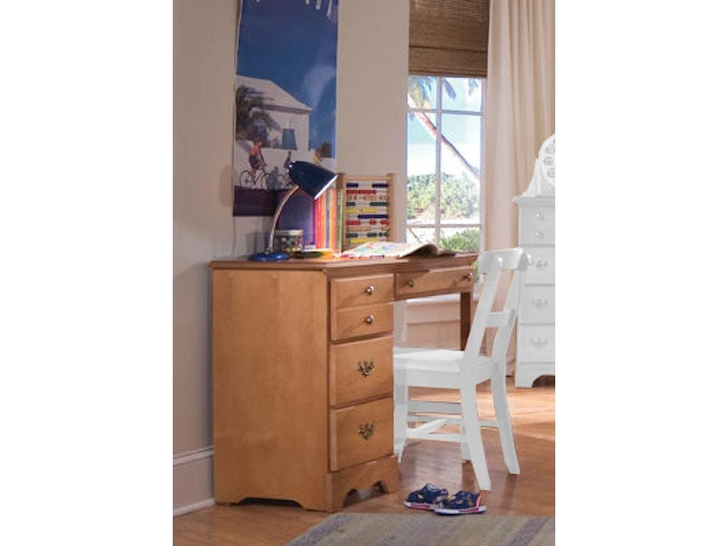 Carolina Furniture Works Youth Bedroom Student Desk 151400 ...