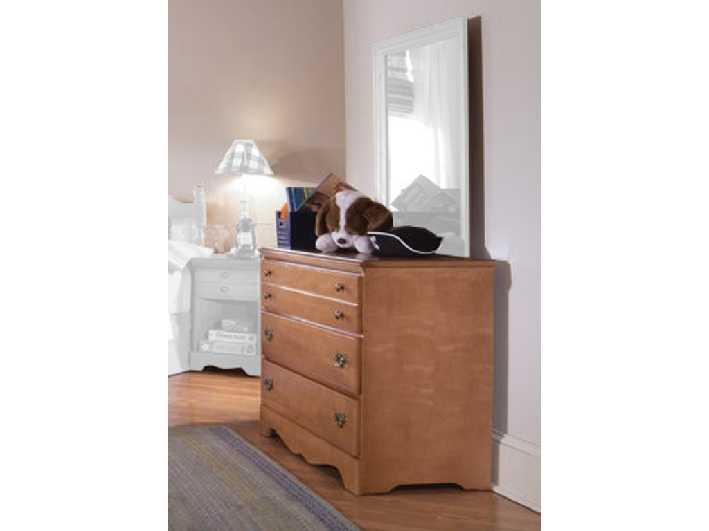 Carolina Furniture Works Bedroom Single Dresser 155300 Davis Furniture Poughkeepsie Ny
