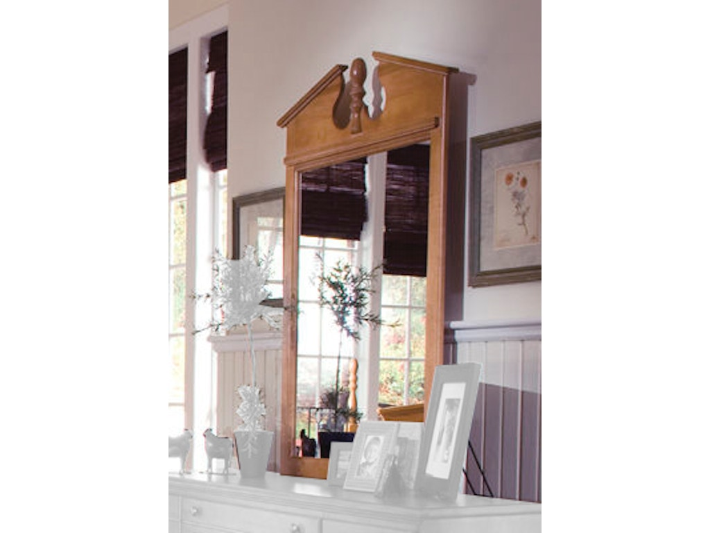 Carolina furniture works accessories vertical mirror for Carolina furniture