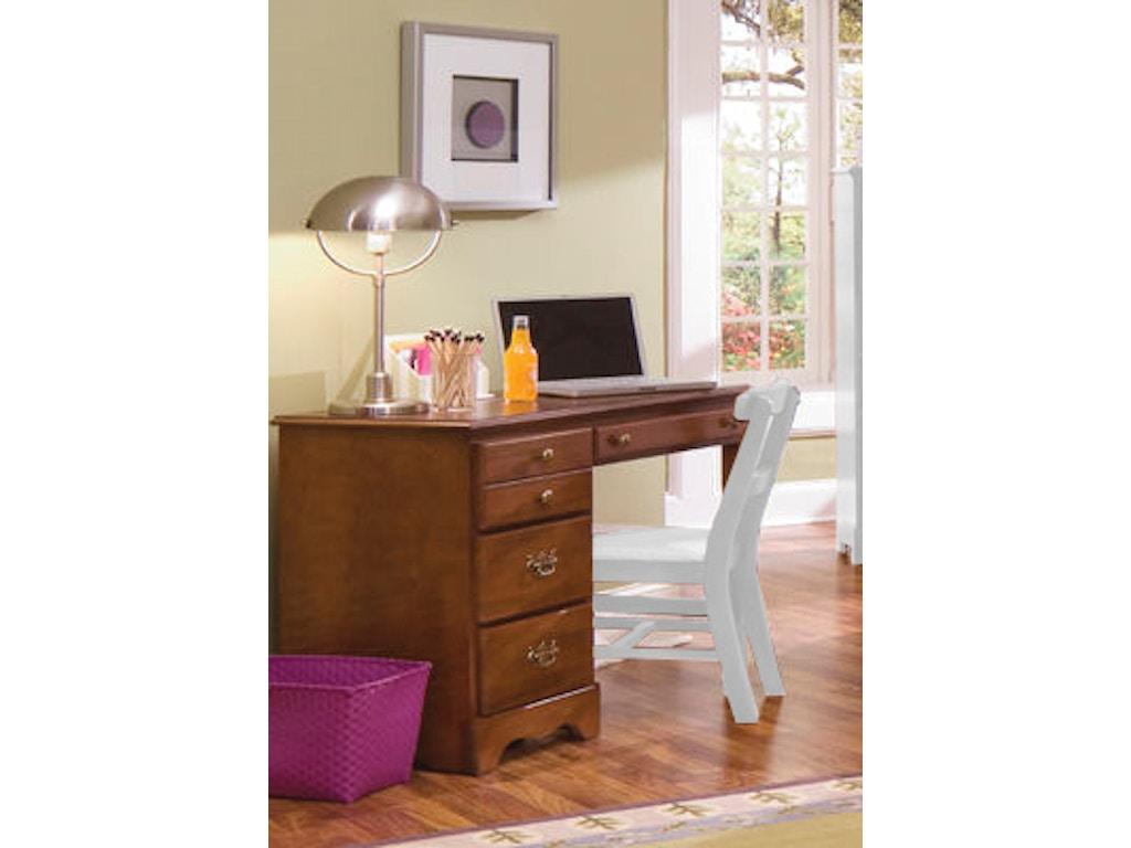 Carolina Furniture Works Youth Bedroom Student Desk 181400 ...