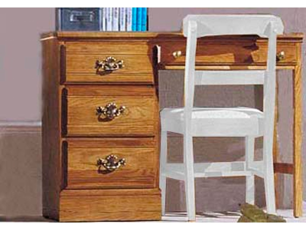 Carolina furniture works youth bedroom student desk 231400 for Carolina furniture